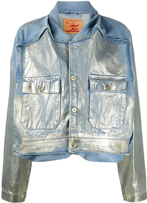 Y/Project Metallic Denim Jacket