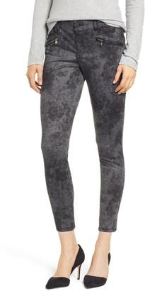 Wit & Wisdom Ab-Solution Floral Ponte Ankle Pants (Petite)