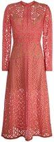 Elie Saab long-sleeve lace dress