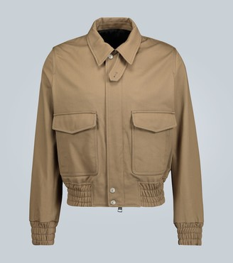 Ami Cotton zipped-up jacket