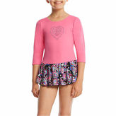 Jacques Moret 3/4 Sleeve Hearts Dance Dress - Preschool