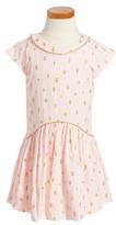 Toddler Girl's Kardashian Kids Drop Waist Bubble Dress