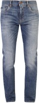 Dolce & Gabbana Straight Leg Pocket Patch Jeans