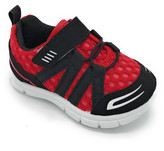 Little Star Boys' Sneakers BLACK/RED - Black & Red Mesh-Top 705F Sneaker - Boys