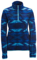 Aeropostale Womens Printed Half-Zip Fleece Jacket