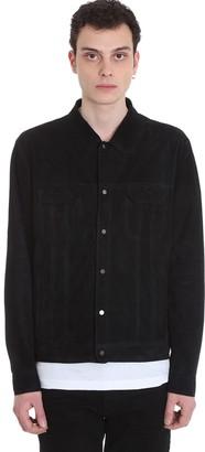Salvatore Santoro Jacket In Black Leather