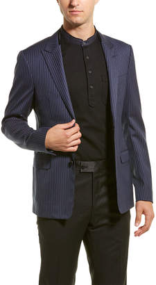 Lanvin Slim Fit Wool Jacket