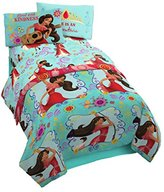 Disney Elena of Avalor Flower Power 3 Piece Twin Sheet Set