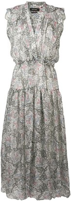Isabel Marant Eydie Summer Night printed dress