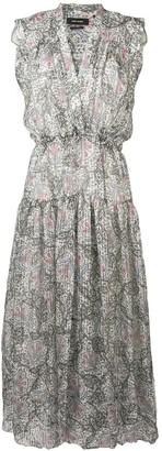 Isabel Marant Eydie Summer Night printed dress