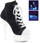 Pleaser USA Women's Delight 600SK-02 Lace-Up Bootie