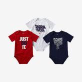 "Nike Ultra Fast"" Three-Piece Infant/Toddler Bodysuit Set"