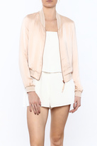 Lucy Paris Blush Bomber Jacket