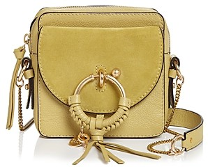See by Chloe Joan Small Leather & Suede Crossbody