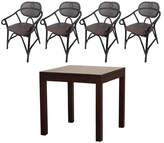 Stefi 4 Seater Dining Set Table
