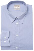Armani Collezioni Checkered Slim Fit Dress Shirt