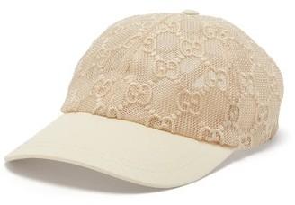 Gucci GG-lace Baseball Cap - White