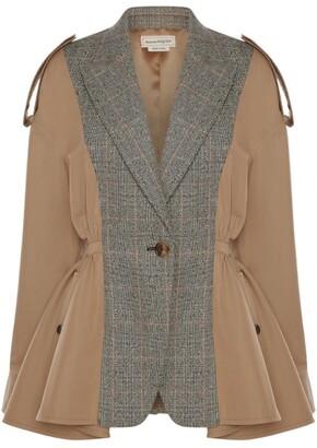 Alexander McQueen Cotton Patchwork Coat