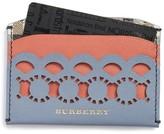 Burberry Women's Izzy Scallop Card Case - Blue