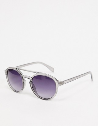 A. J. Morgan AJ Morgan aviator style sunglasses in grey
