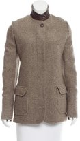 Loro Piana Pointed Collar Cashmere Jacket