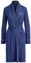 Ralph Lauren Striped Interlock Robe
