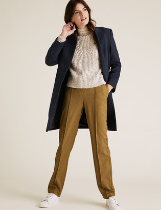 Marks and Spencer Freya Straight High Waisted Trousers