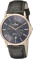 Edox Men's 56001 37R GIR Les Bemonts Analog Display Swiss Quartz Watch