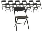 Cosco Home And Office Resin Plastic/Resin Folding Chair Home and Office