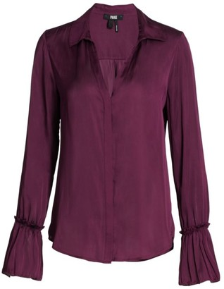 Paige Abriana Shirt Collar Blouse