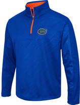 Men's Stadium Florida Gators College Embossed Sleet Quarter-Zip Pullover