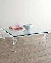Interlude Christelle Acrylic Coffee Table