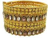 ibaexports Indian Wedding Bangles Set Gold Plated for Women Ethnic Jewelry 2*8