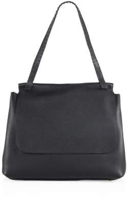 The Row Sidekick Leather Messenger Bag
