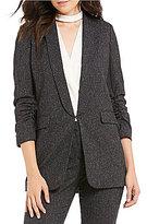 Gianni Bini Jemma Tweed Shawl Style Jacket