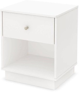 South Shore Litchi Nightstand, Multiple Finishes