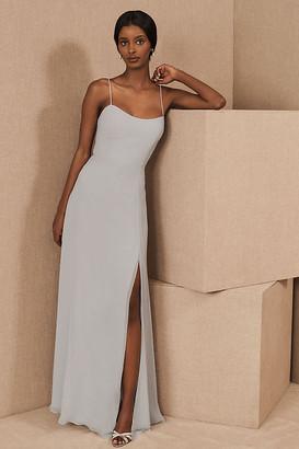 Jenny Yoo Kiara Dress By in Grey Size 14