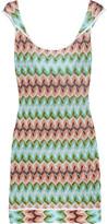 Missoni Sfumato crochet-knit dress