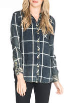 Tolani Emma Velvet-Back Shirt