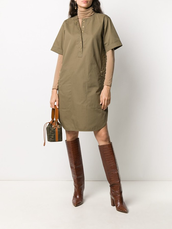 Thumbnail for your product : Céline Pre-Owned Pre-Owned Shirt Dress