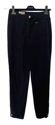 Hermã ̈S HermAs Black Cotton Trousers