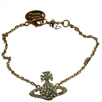 Vivienne Westwood Blue Metal Bracelets