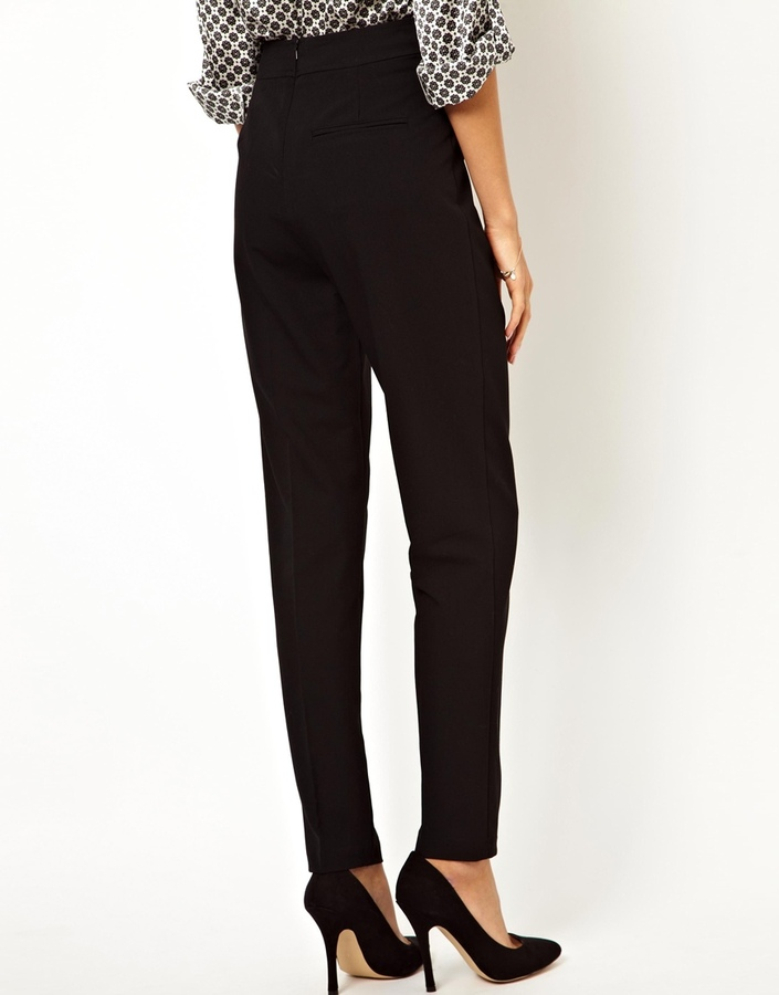 Asos High Waist Pants with Zips