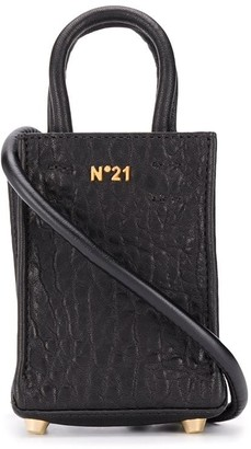 No.21 Mini Leather Shopper Bag