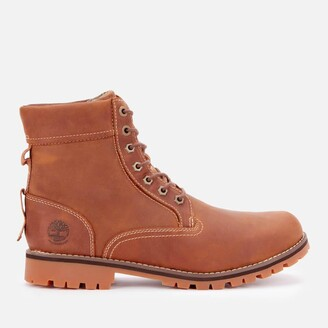 Timberland Men's Rugged Waterproof Leather II 6 Inch Boots - Rust