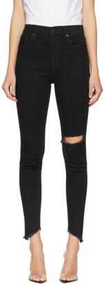 Levi's Levis Black Chew High-Rise Skinny Jeans