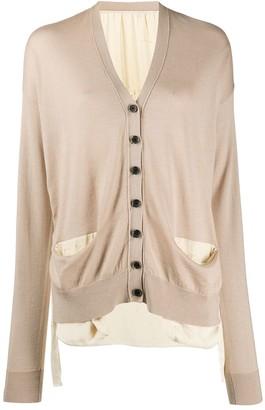UMA WANG long sleeve button-up cardigan