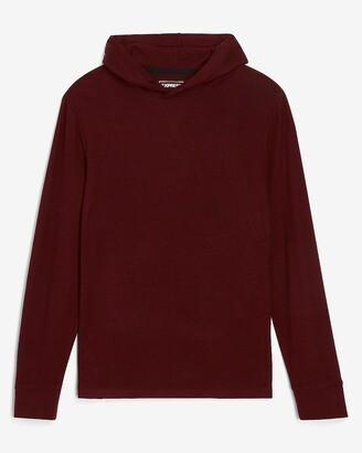 Express Cozy Hooded Long Sleeve T-Shirt