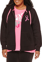 Made For Life Made for Life Breast Cancer Zip-Up Hoodie - Plus