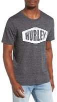 Hurley Men's Stationed Graphic T-Shirt